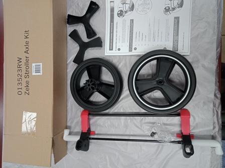 Zeke Replacement Axle Kit